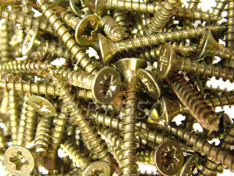 Trade Quality 440pc 4x30mm Wood / Chipboard Screws