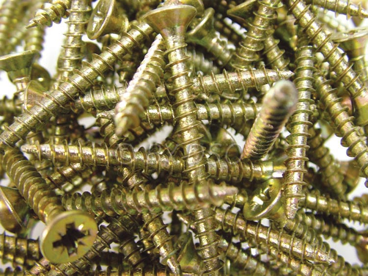 Trade Quality 4x40mm Wood / Chipboard Screws