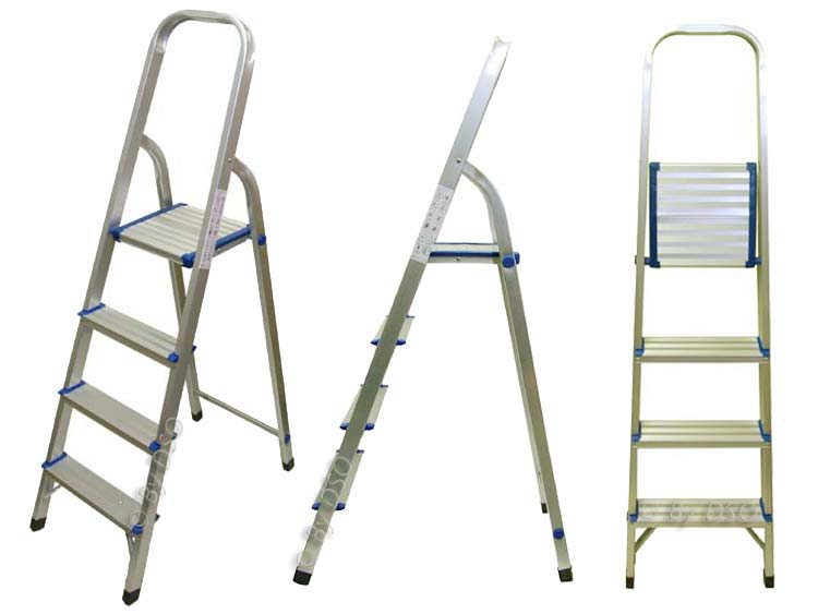 Ultra Lightweight 4 Tread Aluminium Step Ladder